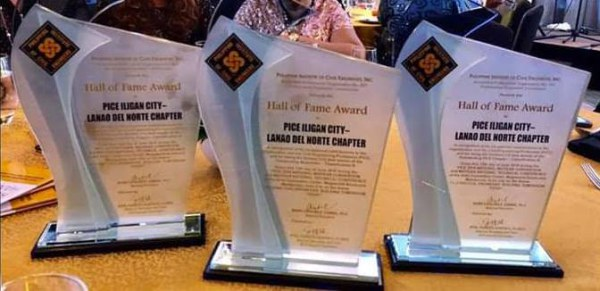 HALL OF FAME AWARDS 2018 , The first and only Chapter that received these \